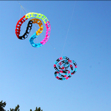 Большой воздушный змей, ветровка, игрушки для улицы, Мощный воздушный змей, 96 отверстий, радужные хвосты, воздушный змей Альбатрос, для серфинга, пляжа, Веселый летающий дракон