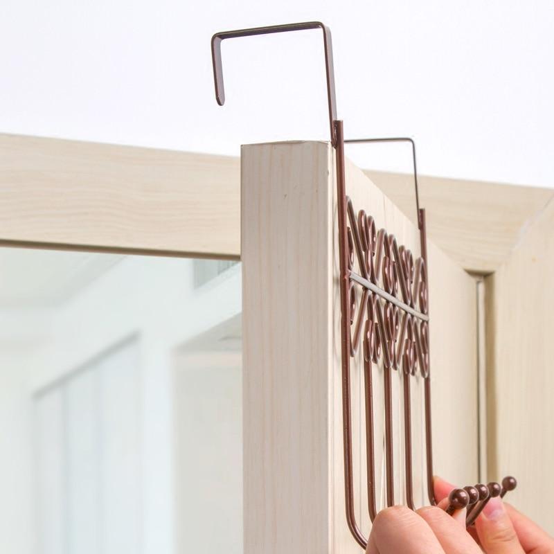 Non-trace kuku pintu kait gratis dapur kreatif kamar mandi rak - Organisasi dan penyimpanan di rumah