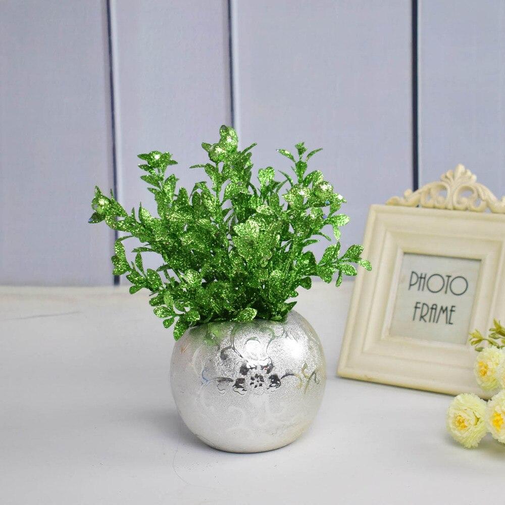 Centre De Table Design us $19.99 |mordern ceramic silver golden flower vase for home wedding party  christmas shop mariage centre de table decoration gold small|flower