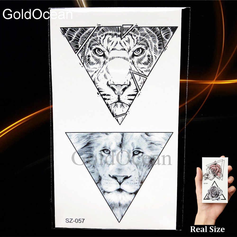 Detalle Comentarios Preguntas Sobre Triángulo Negro Tatuaje Temporal