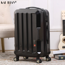 """2"""" 24"""" Дорожный чемодан на колесиках, мужской Спиннер, багаж на колесиках, серебристый, черный, ручная работа, чемодан на колесиках, модный, для каюты, для багажа"""