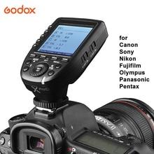 Godox Xpro TTL אלחוטי פלאש טריגר משדר מרחוק בקר עבור Canon Nikon Sony אולימפוס Panasonic Fuji עבור GODOX פלאש