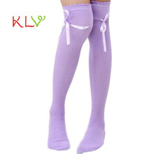High Socks Womens Over the Knee Girls Sexy Cotton High Socks Thigh High Hosiery StockingWomen's Fashion17Aug24