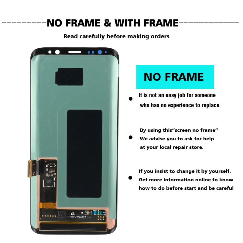 HOT SALE] original S8 S8plus Display Screen for SAMSUNG
