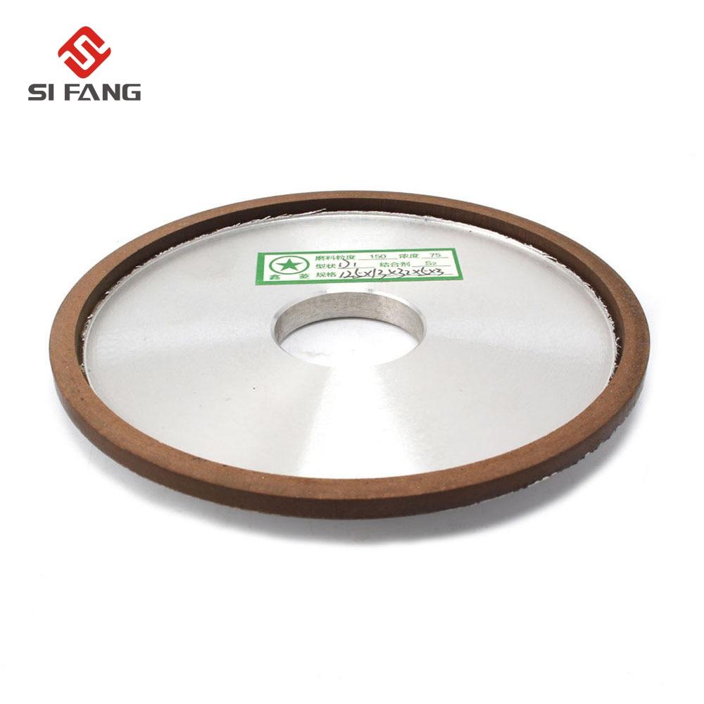 125MM Diamond Grinding Wheels sharpening Grinding Dish Wheels 150 grain For Milling Cutter Tool Power Tool Accessories in Grinding Wheels from Tools
