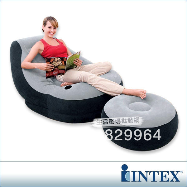 Sofa Inflatable-Sofa Flocking-Fabric Fashion Free-Set Gas-Mercury Advanced Indoor-And-Outdoor-A