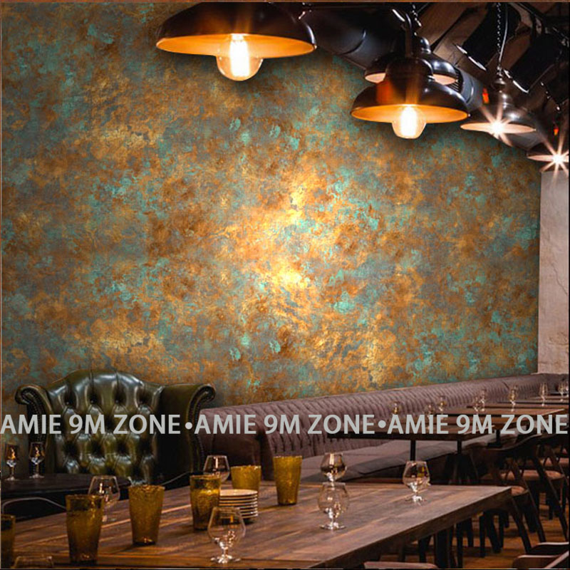 wholesale vintage industrial rust hand paninting poster mural wallpaper for coffee bar restaurant free shipping discount wheat breeding for rust resistance