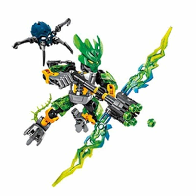BIONICLE Rocha selva Água Terra Fogo Gelo figuras 706 Building Block brinquedos Compatíveis Com Legoings 1 pc
