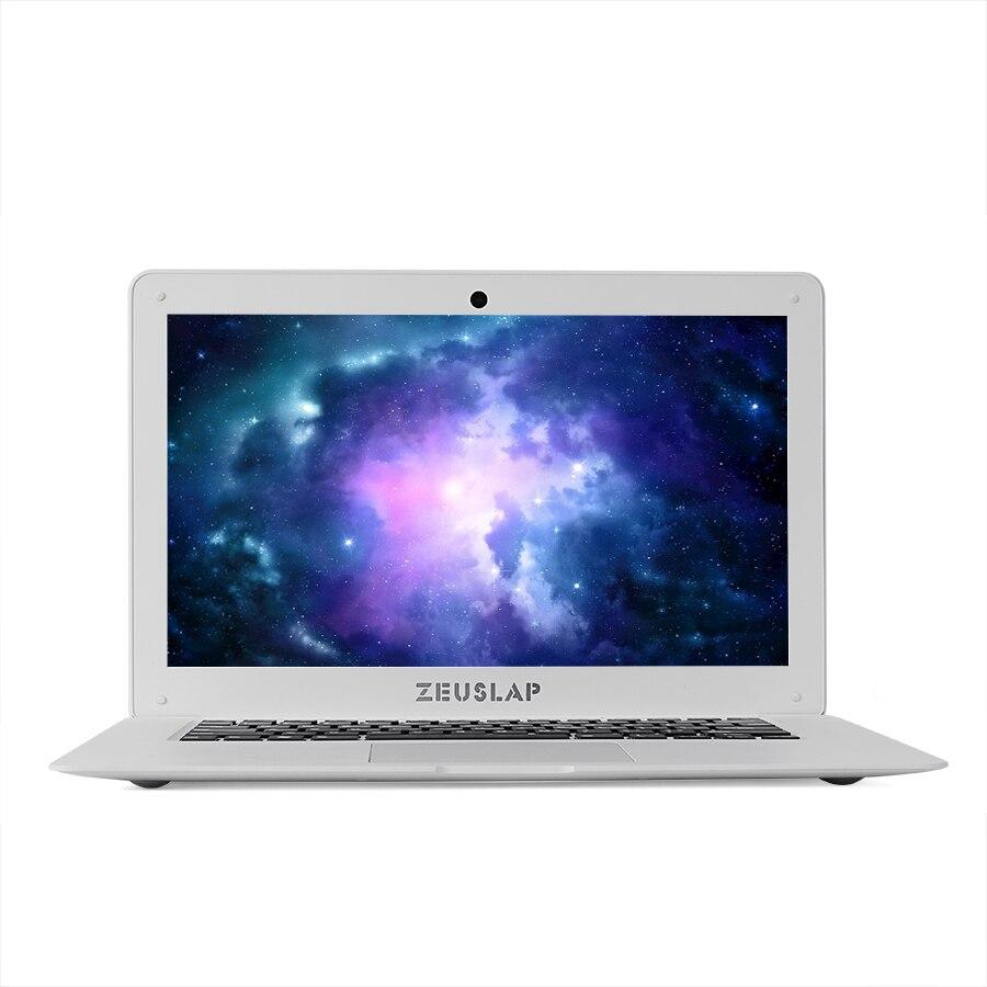 ZEUSLAP 14inch 8gb ram 256gb ssd 2tb hdd Intel Pentium win10 1920X1080P FHD cheap Notebook