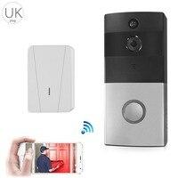 Door Bell Home Intelligent Video Night Vision Motion Detection WIFI Network Wireless Doorbell Phone Intercom Doorbell UK
