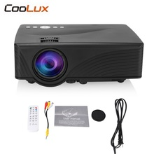 Coolux GP10 Portable Video Projector 2000 Lumens 800 x 480P Support 1080P HD 3D Video Home Theater Projector Proyector
