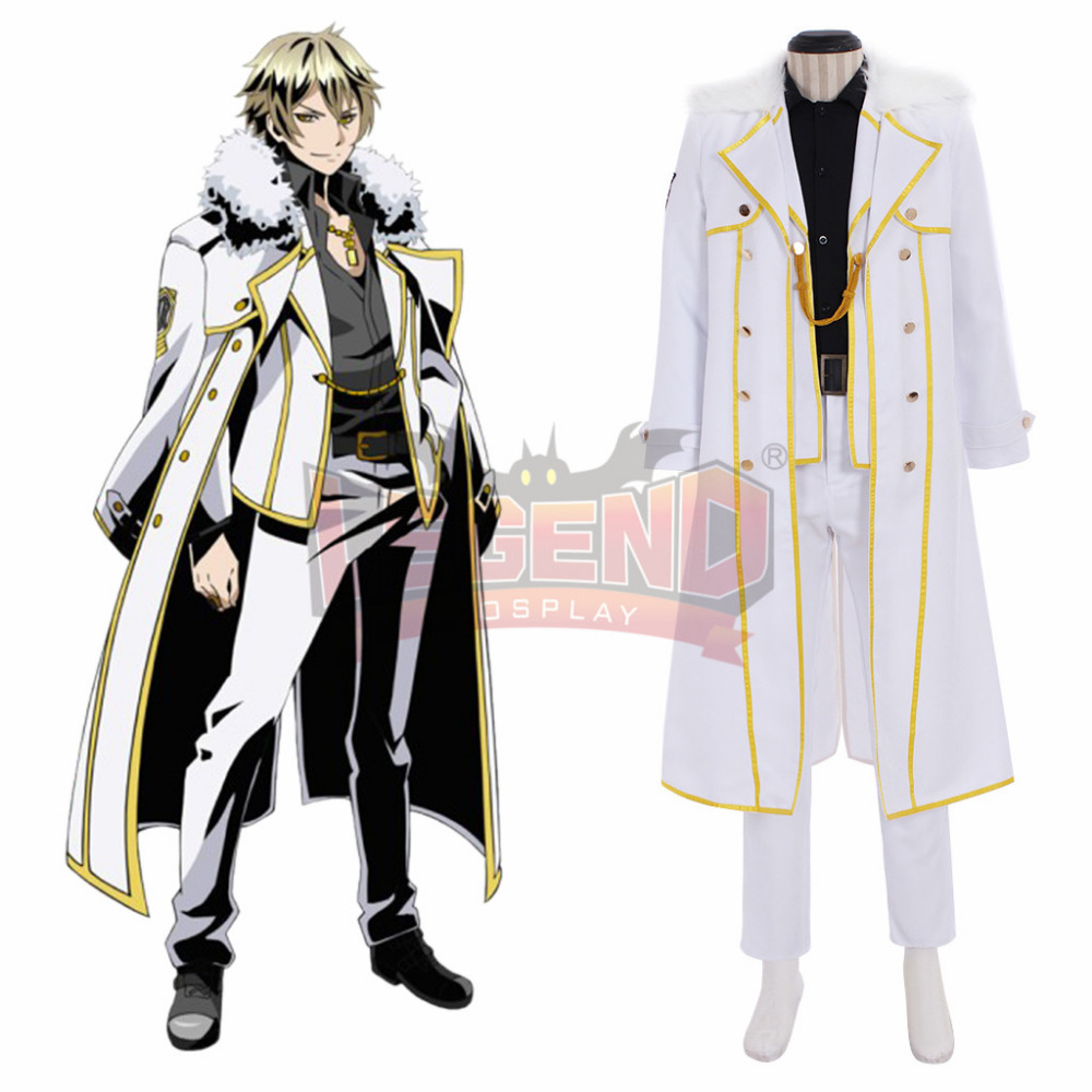 Anime Divine Gate ARTHUR Cosplay Costume Suit All Size custom made full set
