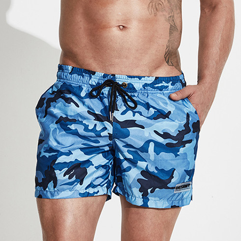 Desmiit Board Shorts Men Bermuda Surf Swim Shorts Quick Dry Military Camouflage Man Boardshorts Beach Swimwear Sport Short Liner