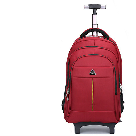 1c5d2c679bb3 BERAGHINI Men s Bag for Business Trip Pull Rod Bags Large Capacity Wheel  Backpack Travel Duffle High Quality Oxford Trolley Bag undefined