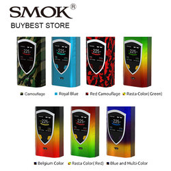 100% Original 225W SMOK ProColor Vape Mod Big Fire Key Support VW/TC/MEMORY Modes No 18650 Battery vs Smok Alien/T-priv Box Mod