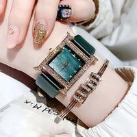 GUOU Watch Women luxury Brand Fashion Casual quartz watches genuine leather strap sport Ladies elegant wrist watch girl