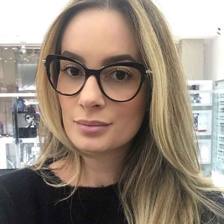 Mincl 2018 Multi-Focal Progressiva Óculos De Leitura mulheres Dioptria  Óculos Cat Mulheres Óculos 0336a6fa37