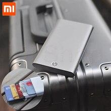 Чехол для карт Xiaomi MIIIW, автоматическая всплывающая коробка, держатель для карт, металлический кошелек Mijia, портативное хранилище для банковских карт, коробка для кредитных карт