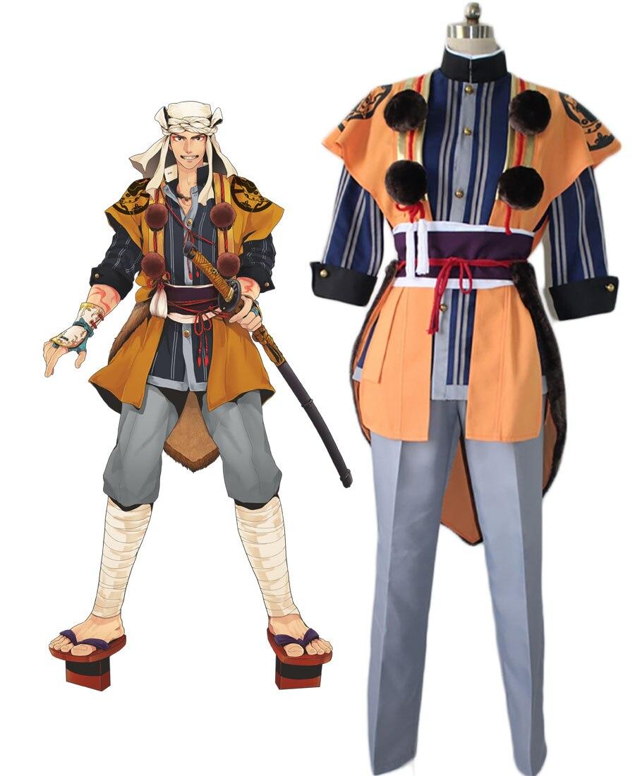 Touken Ranbu ямабуси kunihiro Косплэй костюм повседневная одежда индивидуальный заказ