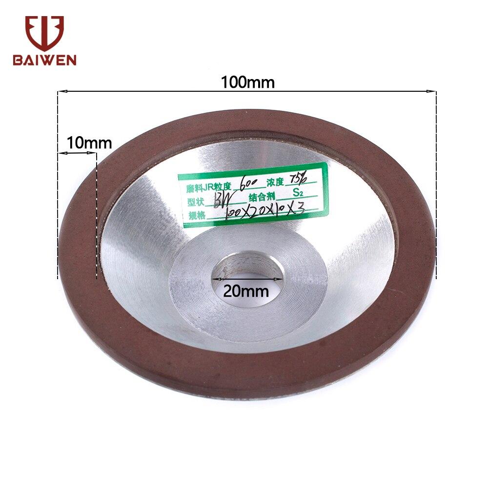 75mm Diameter 150# Diamond Grinding Wheel Metalworking Ceramic Anger Grinder