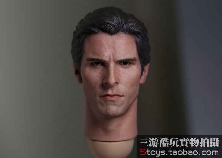 1/6 scale figure Accessory Batman Wayne headsculpt Bale head shape for 12 Action figure doll ,Not included body and clothes 1 6 scale figure accessory batman wayne headsculpt bale head shape for 12 action figure doll not included body and clothes