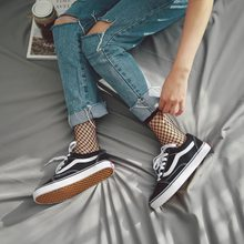 SP&CITY 2017 Popular Chic Thin Fishnet Sock Women Punk Cool Female Mesh Short Socks Females Fashion Hollow Out low Socks(China)
