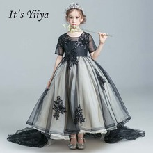 Buy dresses flower girl black and get free shipping on AliExpress.com 6304d84d518f