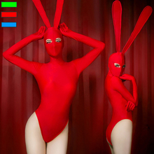2019 Jazz Dance Rabbit Costumes Women Bunny Girl Bodysuit Costume Sexy Singer Female Dj Ds Gogo Stage Outfits Show Clothes