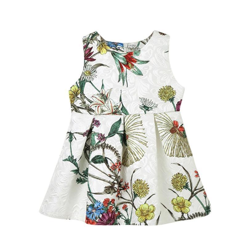 TELOTUNY Baby Girls Infant Toddle Dot Tutu Zip Sleeveless Clothes Princess Dress For Girls Dress JAN16