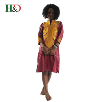 2017New Dashiki African Cotton Dresses Top Bazin Dress For Women African Traditional Private African Custom Clothes
