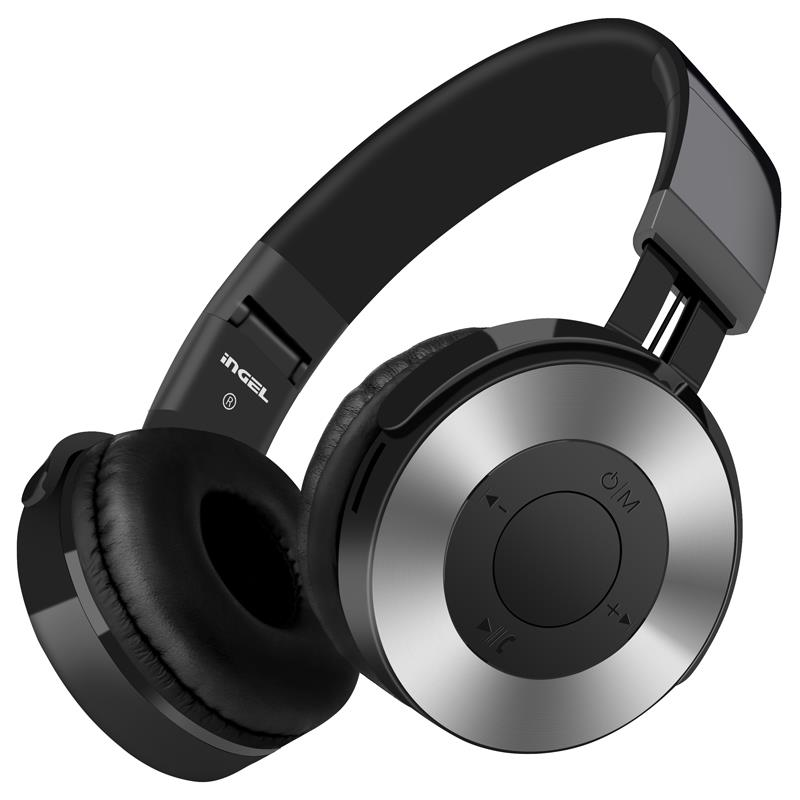 Memories Music IN-555 Bluetooth earphone headphone sport Support FM radio TF card for xiaomi iphone8 best headphone wireless