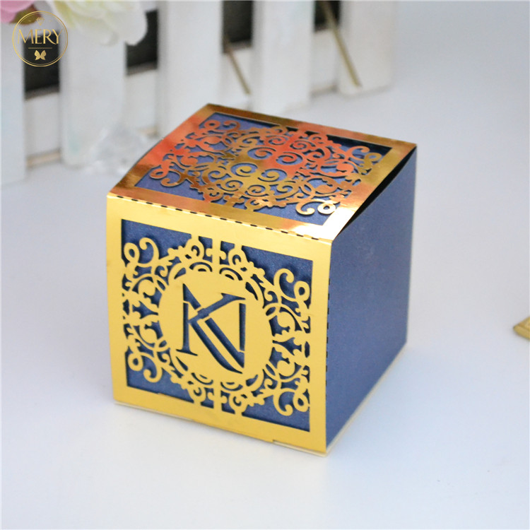 wedding : Ganesh design laser cut luxury indian wedding sweet boxes