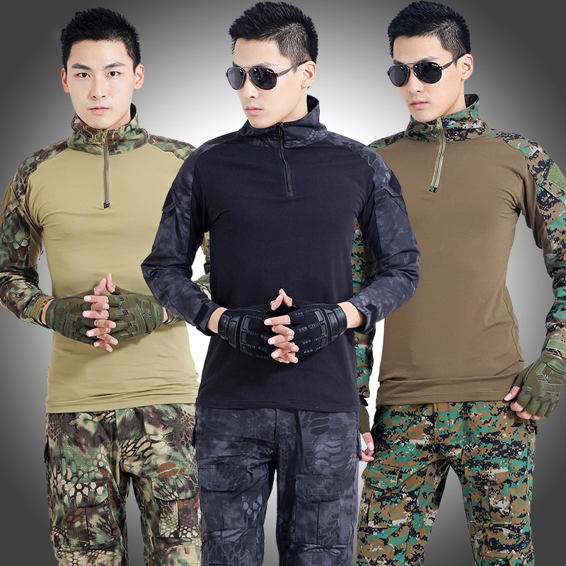 Uniformes de Camouflage CS en plein air hommes uniforme militaire tactique vêtements uniforme de Combat armée en plein air Jungle chasse Camou ensemble