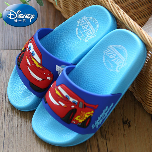 7b1b731fe4 Disney 2018 Children s sandals car anti-skid slippers baby car spring and  summer wear-