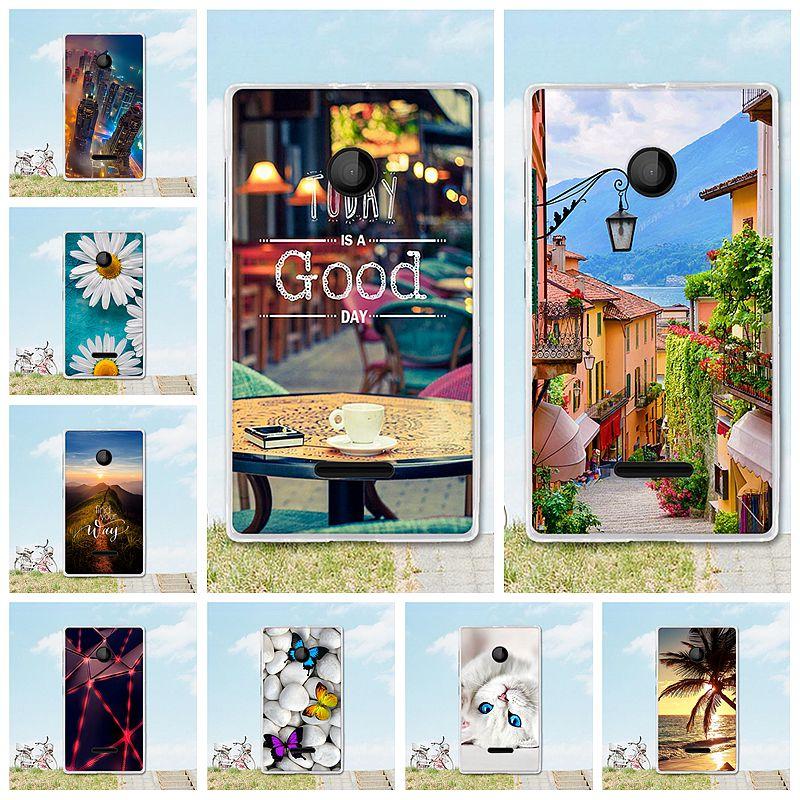 Для microsoft Nokia Lumia 435 N435 N532 532 4,0 дюймов Случаи Обложка Корпус shell кожи сумки окрашены в мягких Силиконовые ТПУ телефон Carcasa