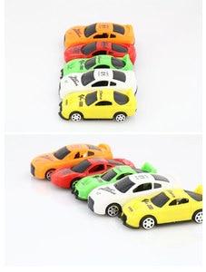 Image 4 - 5pcs/lot Pull Back Car Toys Car Children Racing Car Baby Mini Cars Cartoon Pull Back Kids Toys For Children Boy Gifts WYQ