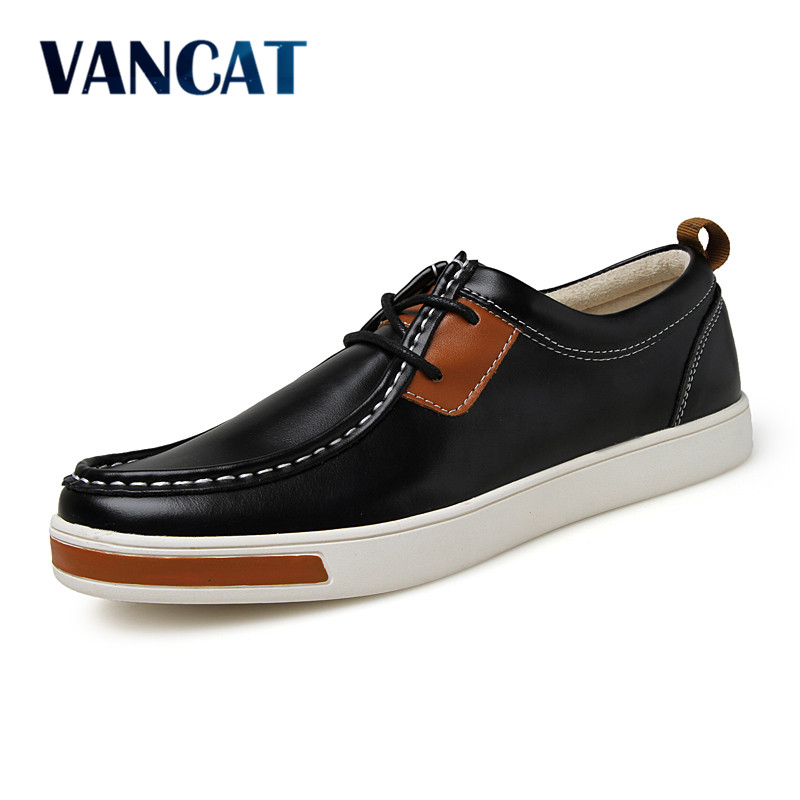 VANCAT Ltalian Designers Shoes Fashion Men's Leather Moccasin Classic Male Shoes Breathable Men Casual Shoes Sapato Masculino branded men s penny loafes casual men s full grain leather emboss crocodile boat shoes slip on breathable moccasin driving shoes