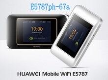 Открыл huawei E5787 E5787Ph-67a LTE Cat6 300 Мбит/с Мобильная точка доступа Wi Fi 3000 мАч батарея Мобильный маршрутизатор + 2 шт. антенны