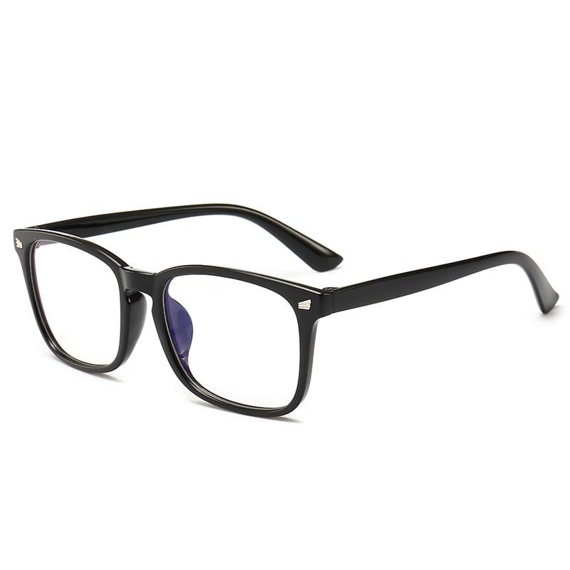 2018 New Popular Computer Glasses Frame Women Anti-blue Radiation Protection Flat Mirror Men Optical Glasses frame clear lens