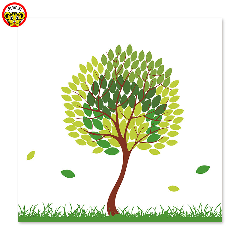 Painting By Numbers Art Paint By Number Cartoon Simple Tree Green Environmental Protection Protection Aliexpress Red and blue tree house painting, watercolor painting tree house, cartoon tree tree house transparent background png clipart. us 8 9 painting by numbers art paint by number cartoon simple tree green environmental protection protection aliexpress