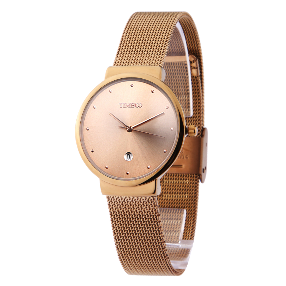 Watches men alloy strap quartz men wristwatch watch business casual style analog display fashion brand