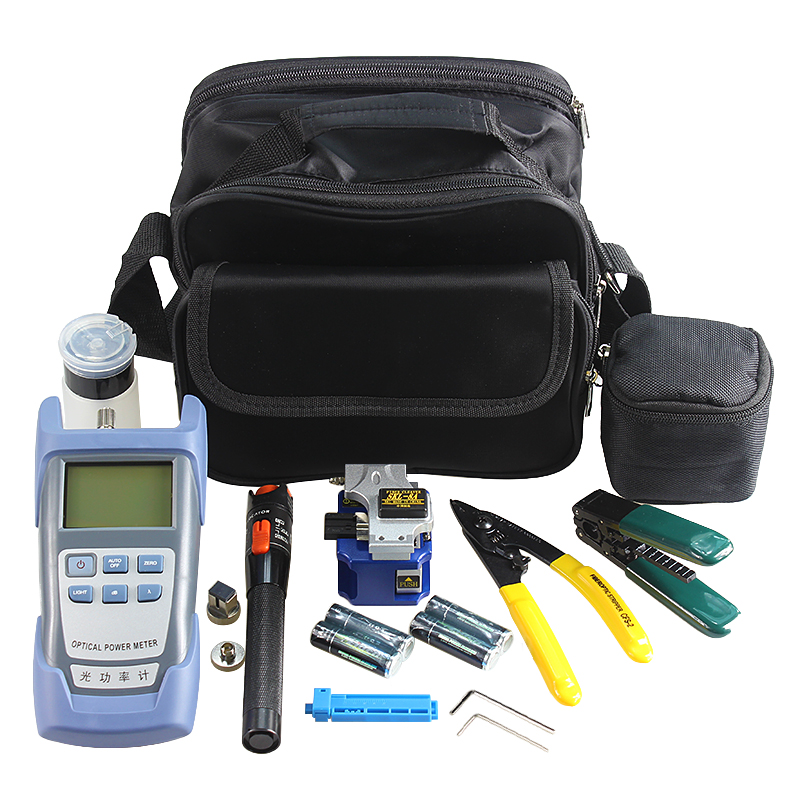 05 type optical power meter tools set combination of fusion splicer use SKL-8A fiber cleaver, 10KM visual fault locator05 type optical power meter tools set combination of fusion splicer use SKL-8A fiber cleaver, 10KM visual fault locator