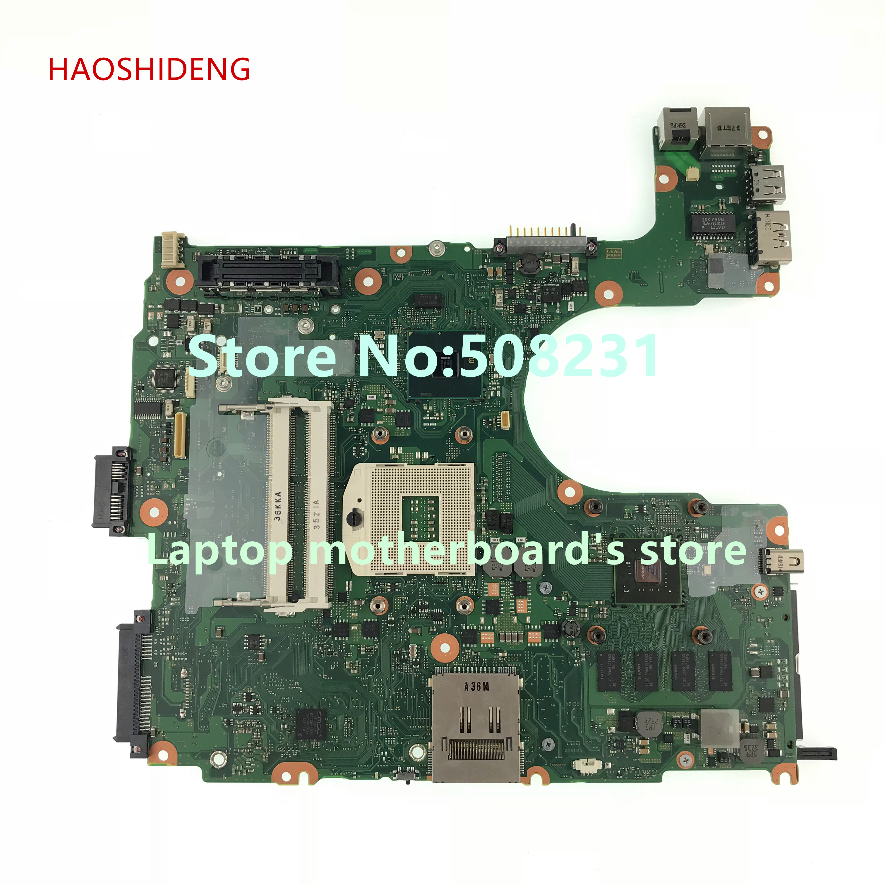 HAOSHIDENG P000539360 FHVSYC mainboard for Toshiba Tecra A11 laptop motherboard with nVidia Quadro NVS 3100M fully Tested for toshiba tecra m11 laptop motherboard integrated fgnsy1 a5a002769010 a stock no 999