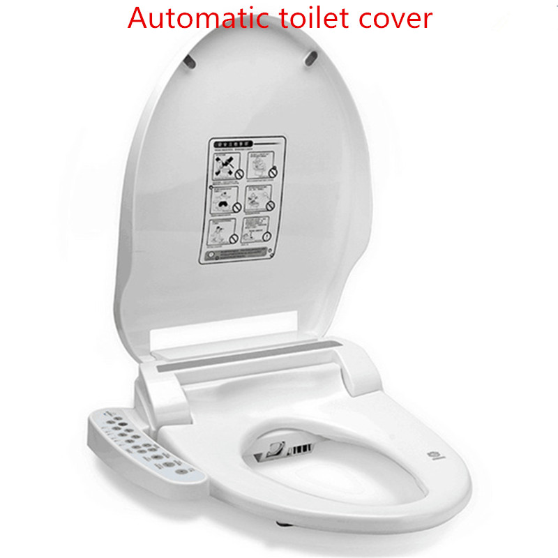 Smart heated toilet seat instant hot wc sitz intelligent automatic toilet lid cover electric - Automatic bidet toilet seat ...