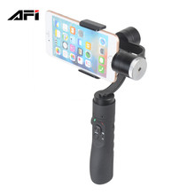 china market AFI V3 handheld 3-axis smartphone cell phone camera video stabilizer for iphone 5 6 6s 7 8 plus gopro action camera