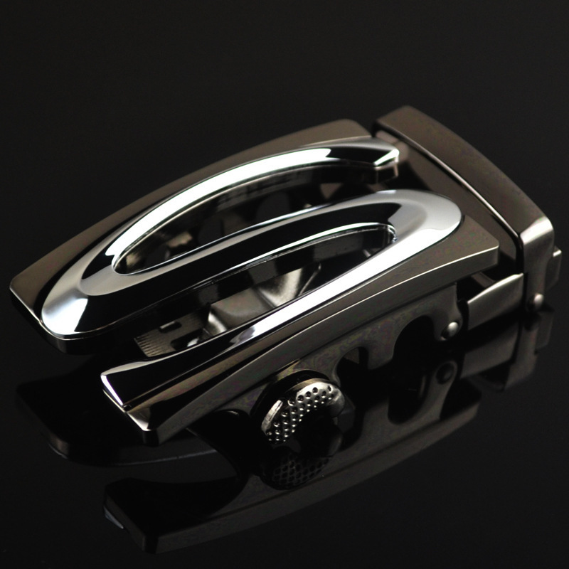 Fashion Men's Business Alloy Automatic Buckle Unique Men Plaque Belt Buckles For 3.5cm Ratchet Men Apparel Accessories LY188384