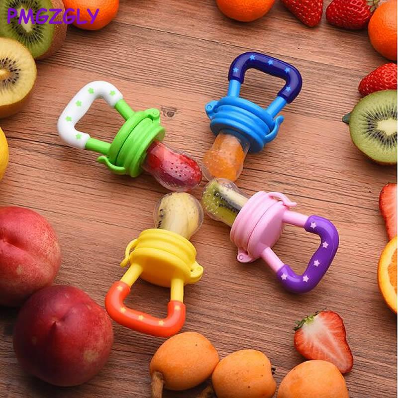 Baby Pacifier Soother Holder Fresh Food Milk Nibbler Feeder Toy Infant Nipple Bottles Kids Supplie Feeding Spoon Soother Nibbler