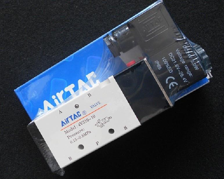 Taiwan Airtac authentic Solenoid Valve, Pneumatic Control Valve, Reverse Solenoid Valve 4V210-08 airtac 4v210 08 solenoid valve original 4v210 08 airtac genuine ac220v 24v