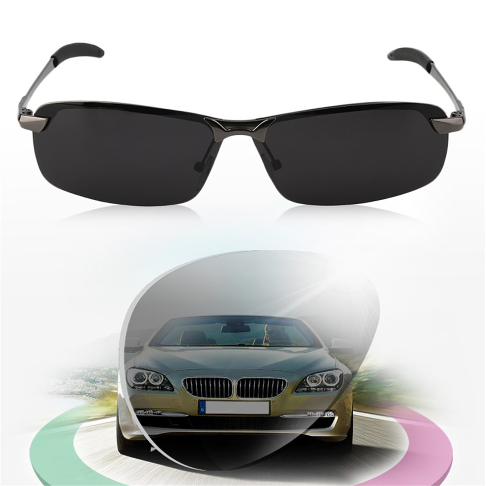 New Night Vision Polarized Sunglasses Glasses voor Outdoor Driving - Visvangst - Foto 3