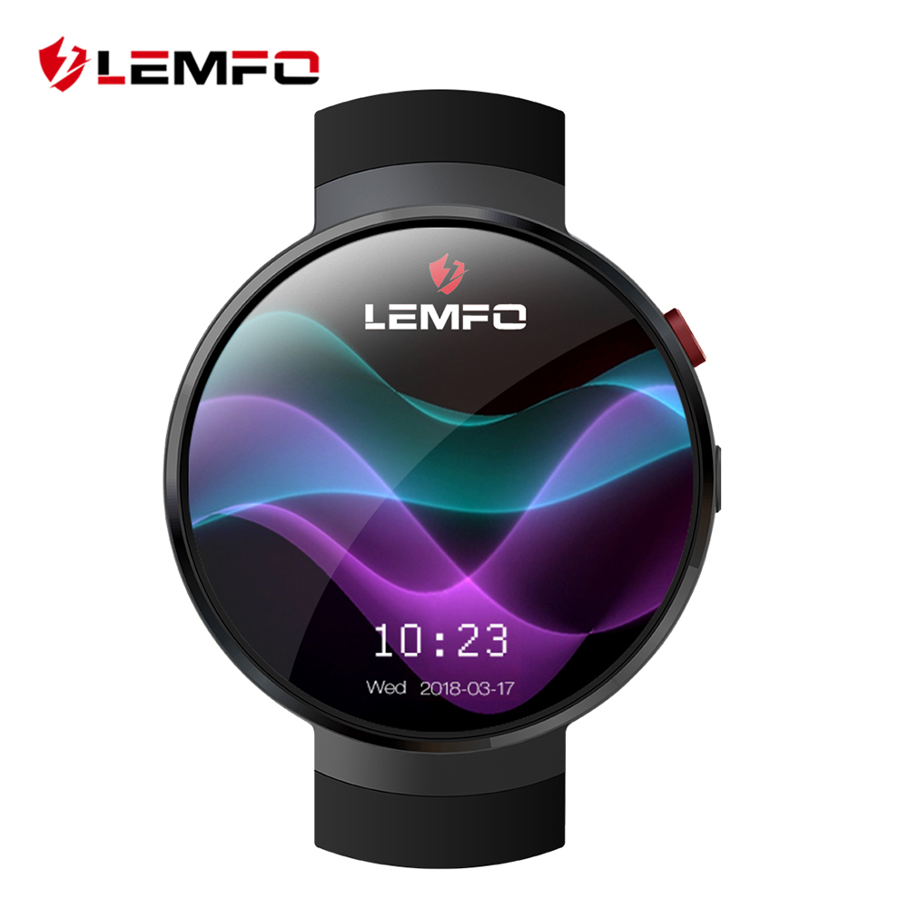 LEMFO LEM7 Smart Uhr Android 7.0 Smartwatch LTE 4G Smart Uhr telefon Heart Rate 1 GB + 16 GB Speicher mit Kamera Übersetzung werkzeug